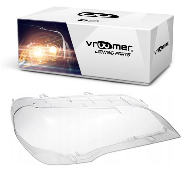 PRAWY KLOSZ SZKŁO DO REFLEKTORA BMW X5E70